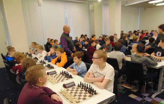 Шахматный турнир-2019 в Санкт-Петербурге