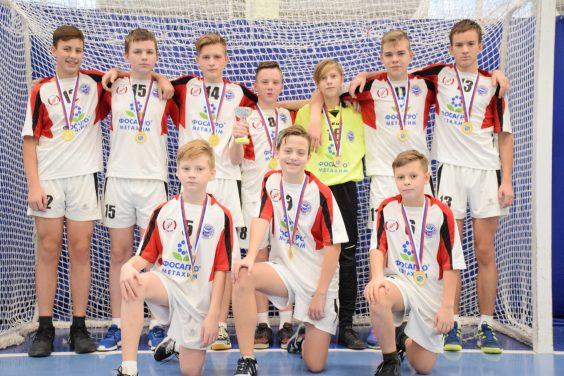 Волховские гандболисты - областные чемпионы!