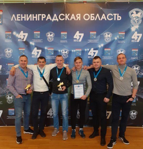 Сергей Сафронов в числе лучших игроков Ленинградской области