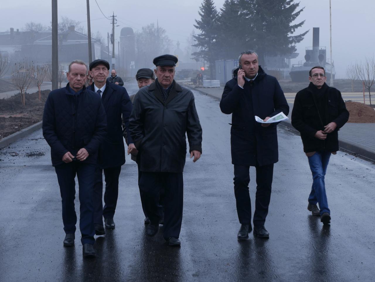 Главы района осмотрели объекты Новой Ладоги
