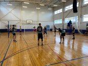 В районе прошло Первенство по волейболу