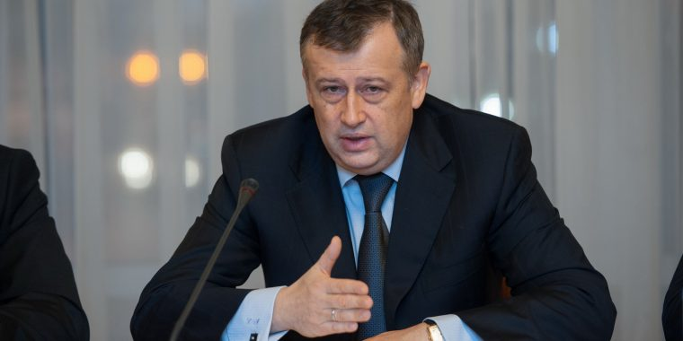 Пресс-конференция губернатора Ленинградской области