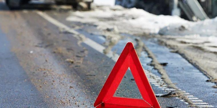 Авария на трассе «Кола» возле Волосово