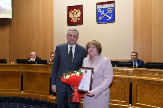 Директор Волховского колледжа транспортного строительства удостоена благодарности Президента