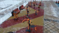 Самая крупная спортивно-игровая площадка района открыта