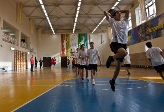 Спорт не выходя из школы