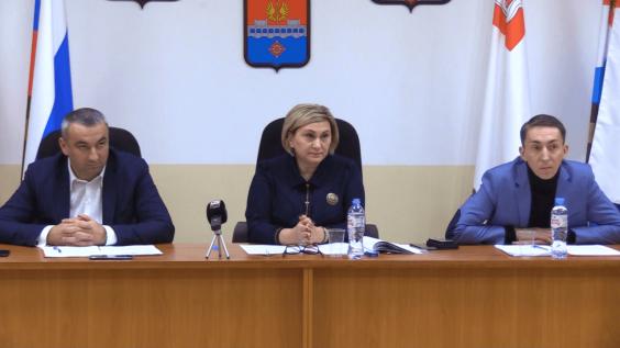 В городском Совете депутатов