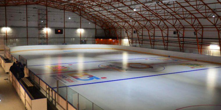 Строительство ледовой арены затормозилось