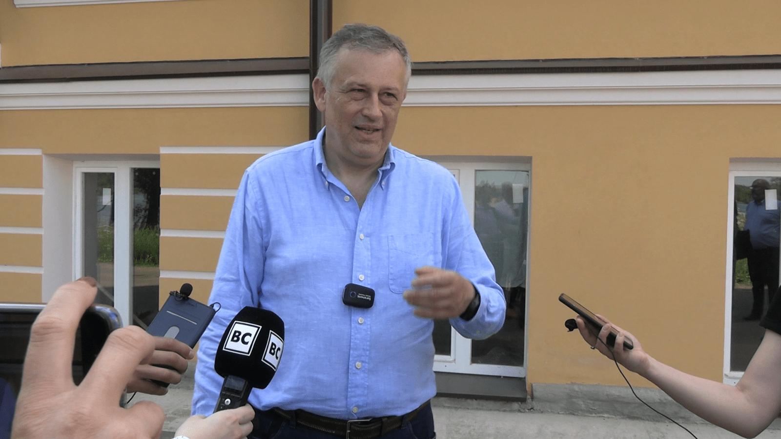 Рабочая поездка губернатора ЛО в Волховский район, 18 июня 2020 года / Видеосюжет