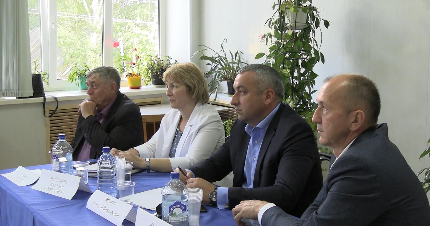 Встреча руководителей с активом Иссадского поселения