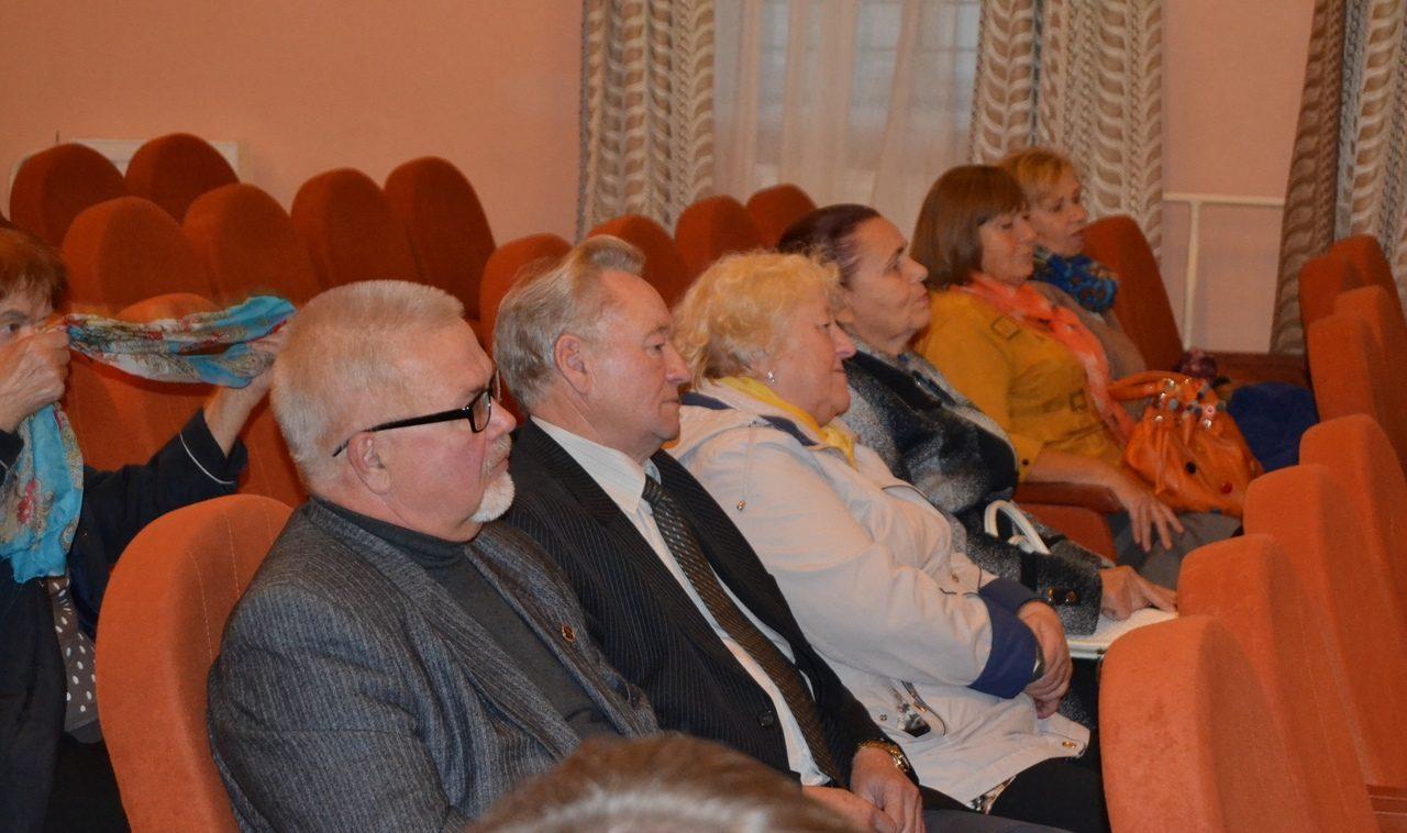 Ветераны встретились на отчётно-выборном собрании
