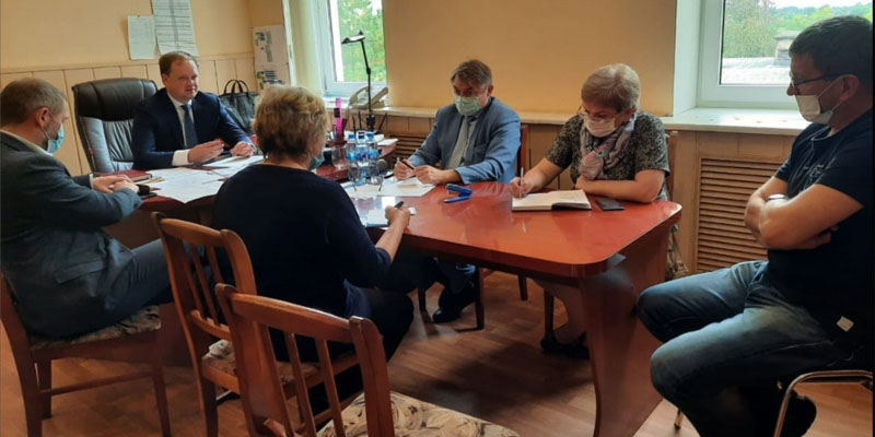 Встреча жителей и Леноблводоканала