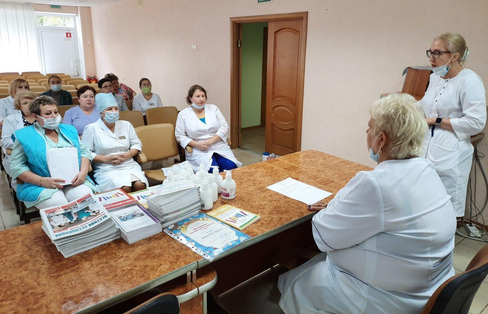 В Волховской межрайонной больнице состоялся мастер-класс