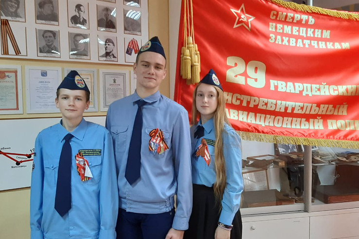 В Волхове находится лучший школьный музей страны
