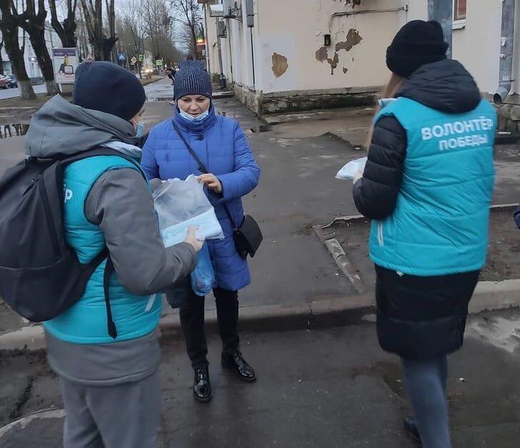 Бесплатные маски для жителей города Волхов