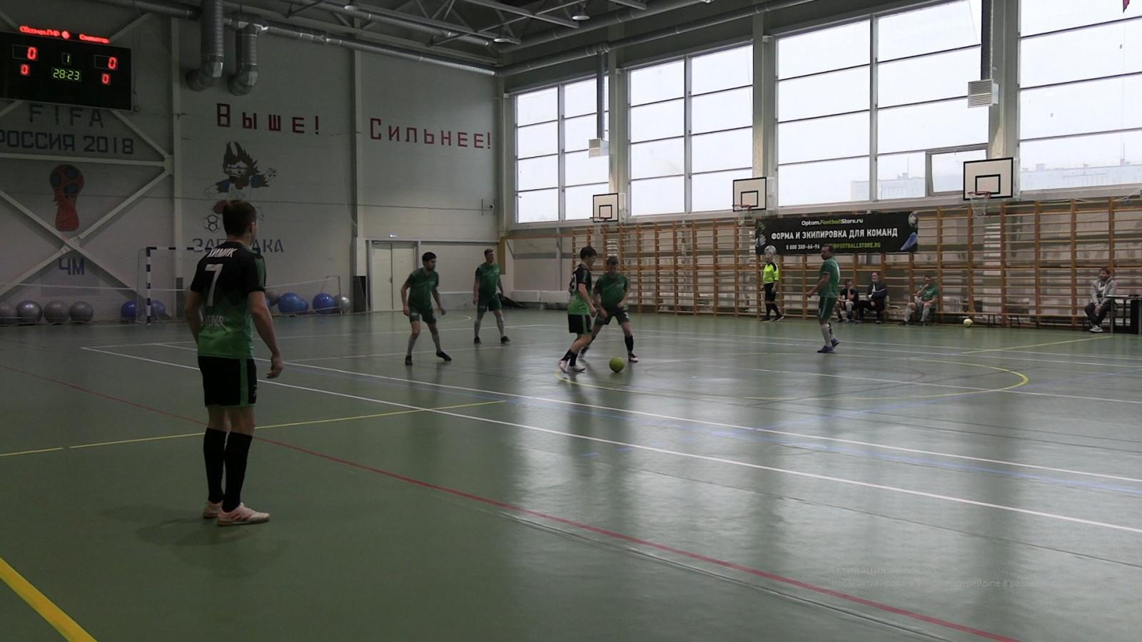 Завершился чемпионат по мини-футболу
