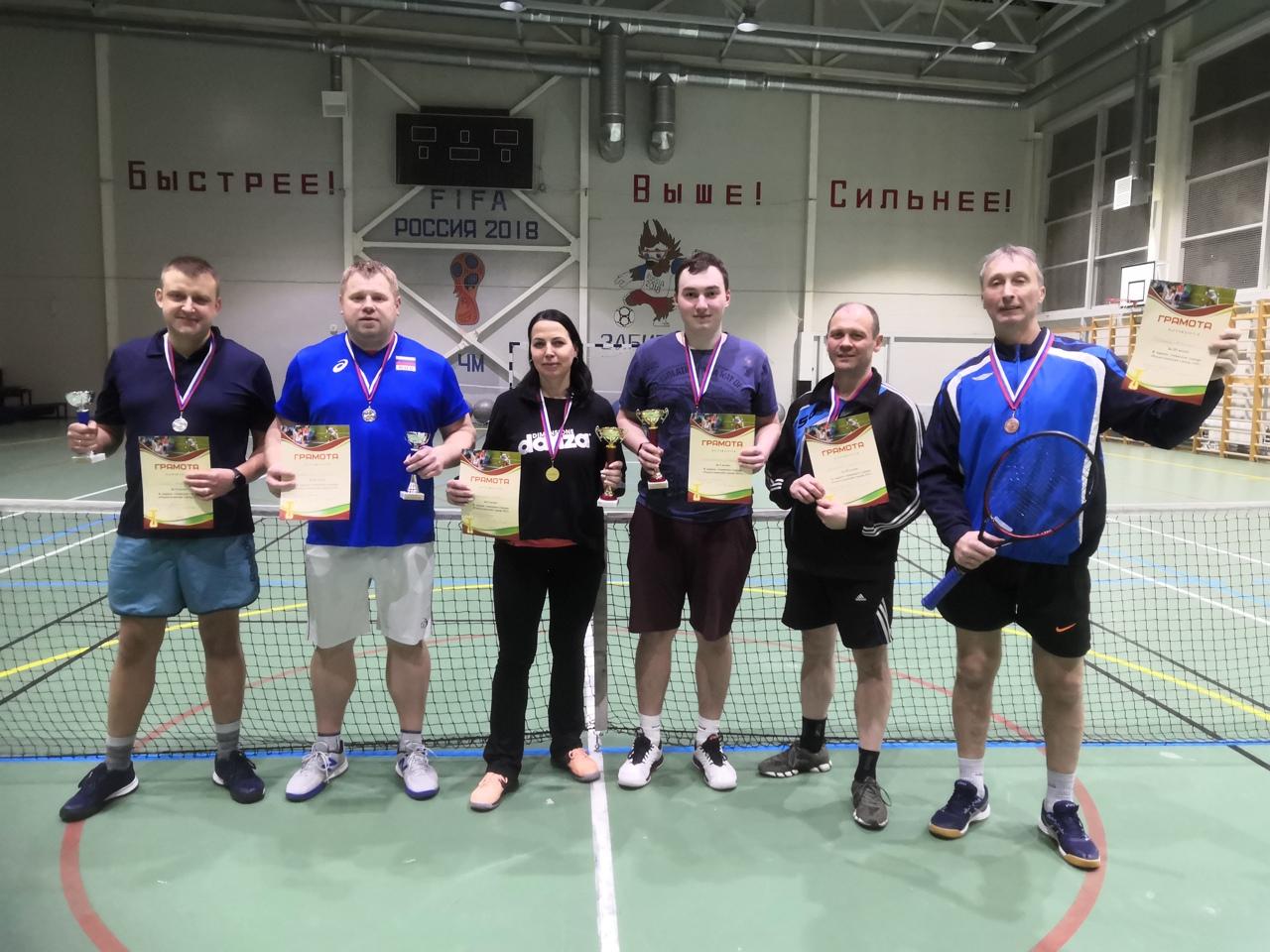 В Волхове разыгран теннисный турнир