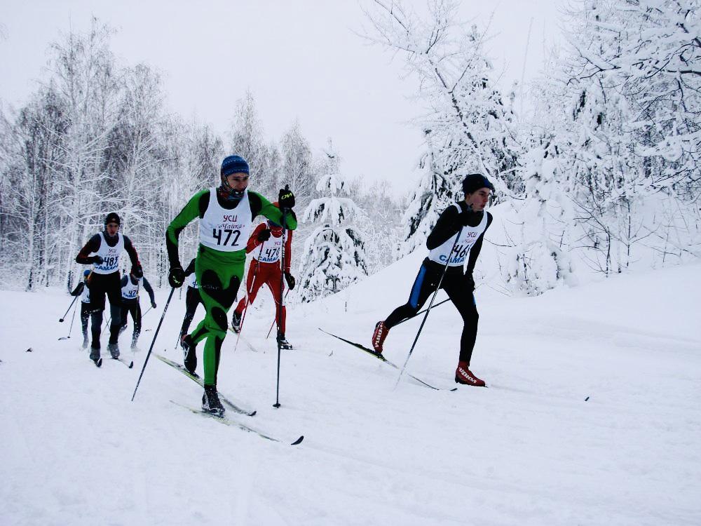 Лыжный забег посвящённый Дню снятия блокады Ленинграда