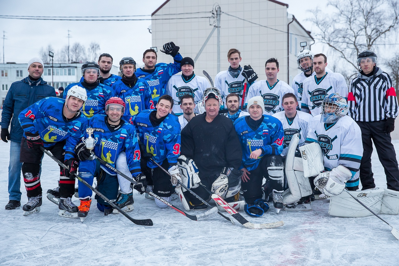 Рождественский хоккей в Вындин Острове