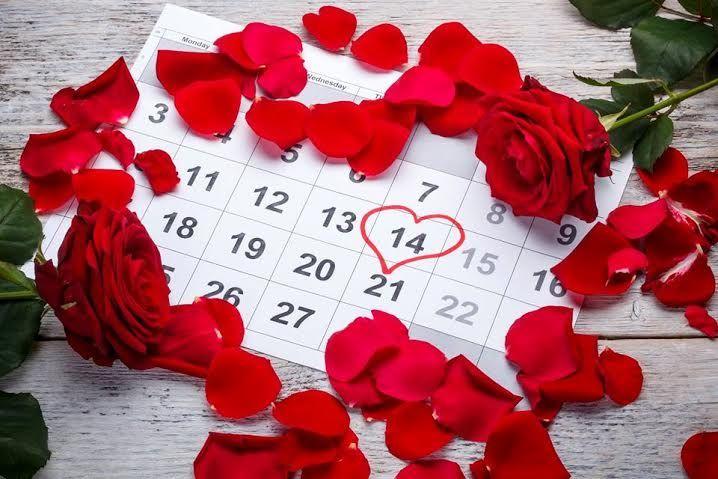 Всех влюблённых - с праздником!