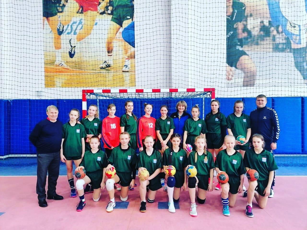 Сборная Ленобласти по гандболу в полуфинале всероссийских соревнований