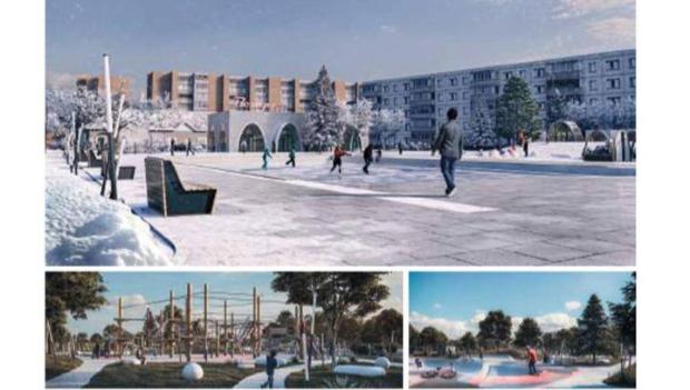 Расстанная площадь в Волхове значительно преобразится