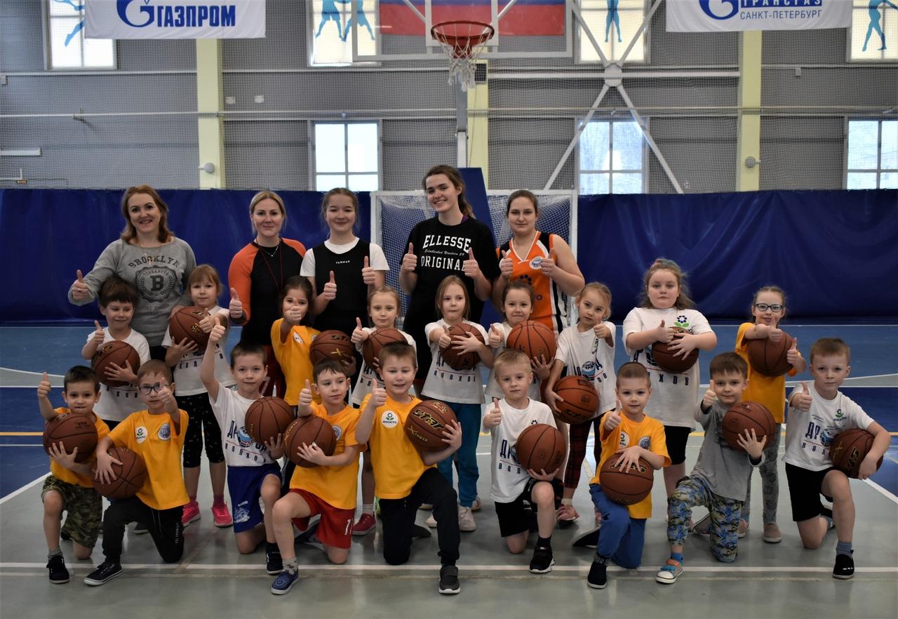 Мастер-класс для начинающих баскетболистов