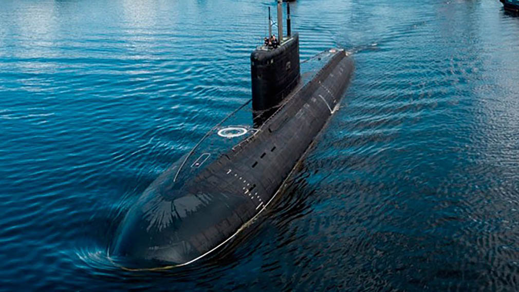 """Подводная лодка """"Волхов"""" прошла первое испытание морем"""