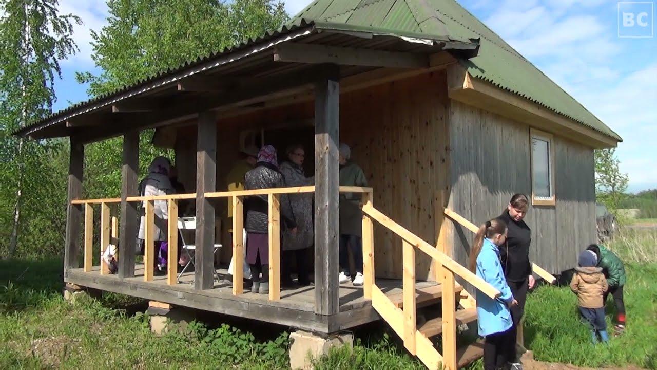 Открытие часовни в посёлке Волхов