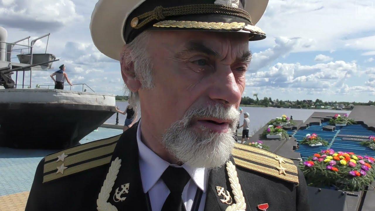 День ВМФ в Новой Ладоге