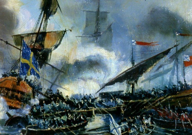 Гренгамское сражение 27 июля 1720 года