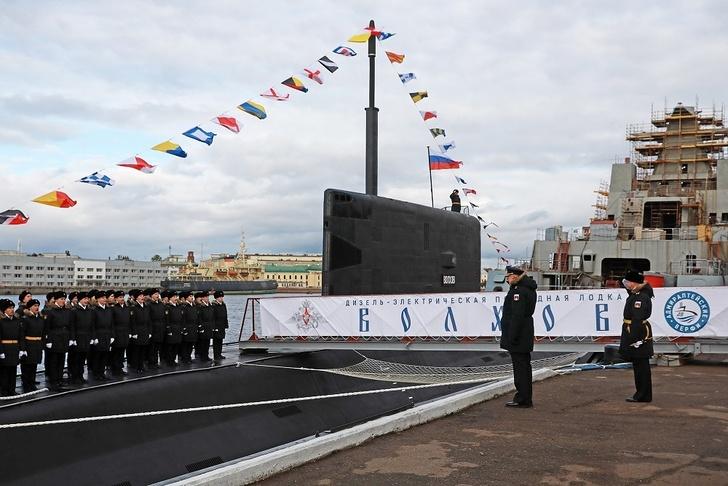Подводная лодка «ВОЛХОВ»