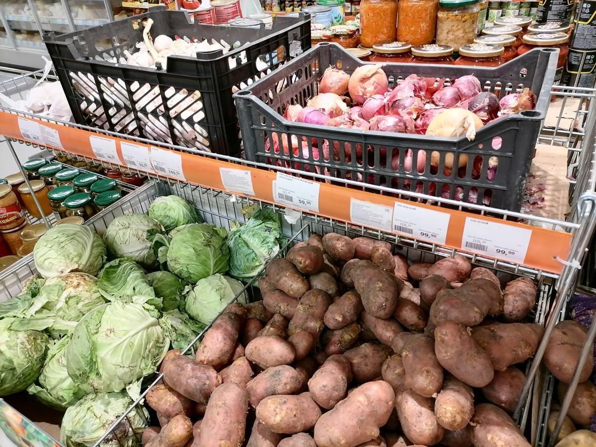 Российские овощи помогут снизить цены