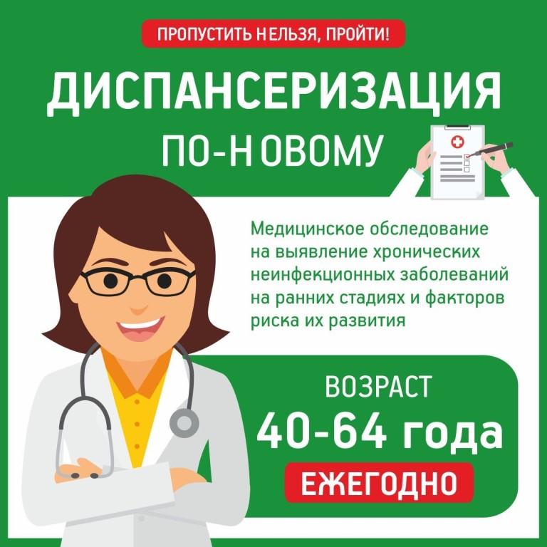 Диспансеризация населения в Волховском районе