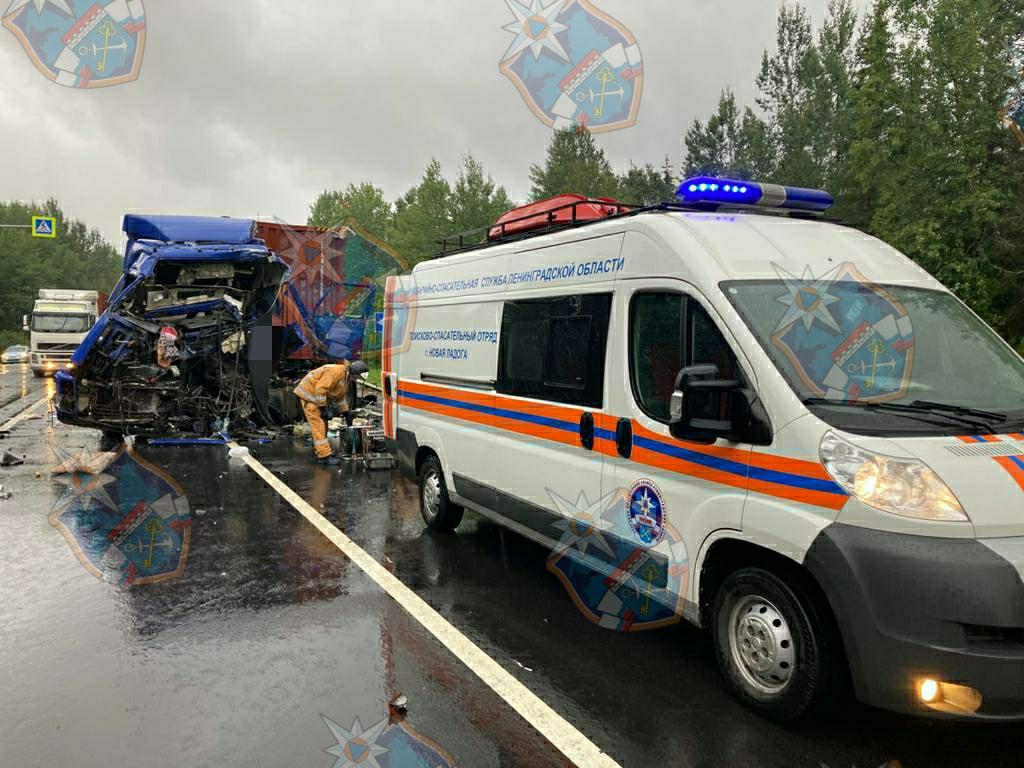 Смертельное ДТП на федеральной трассе в Волховском районе