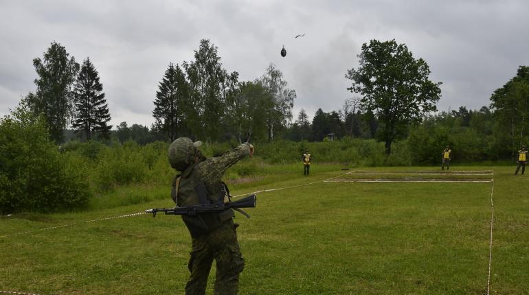 Военные в Ленобласти прошли интенсивную подготовку