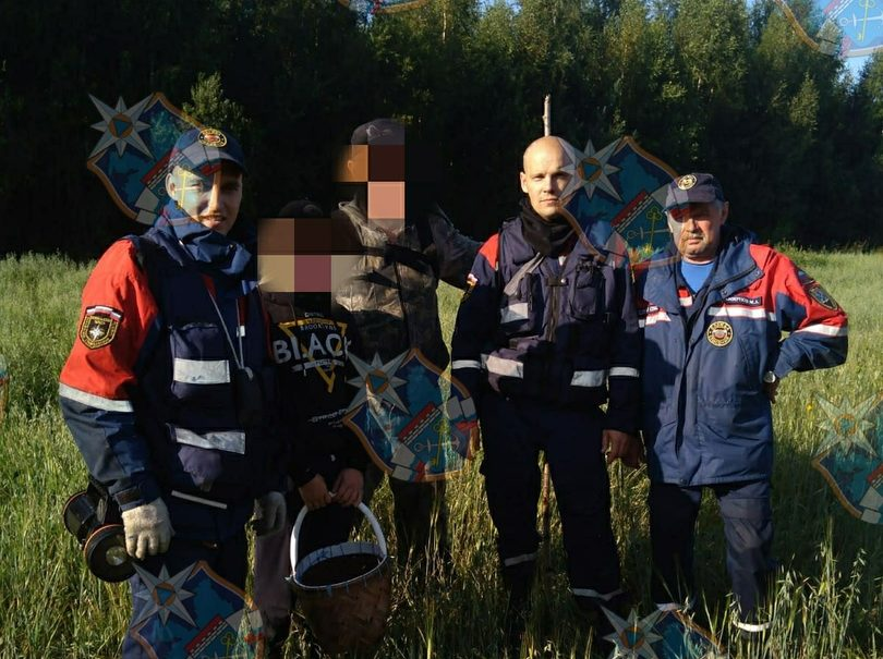 Новоладожские спасатели вывели грибников из леса