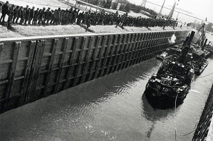 Открытие Беломоро-Балтийского канала
