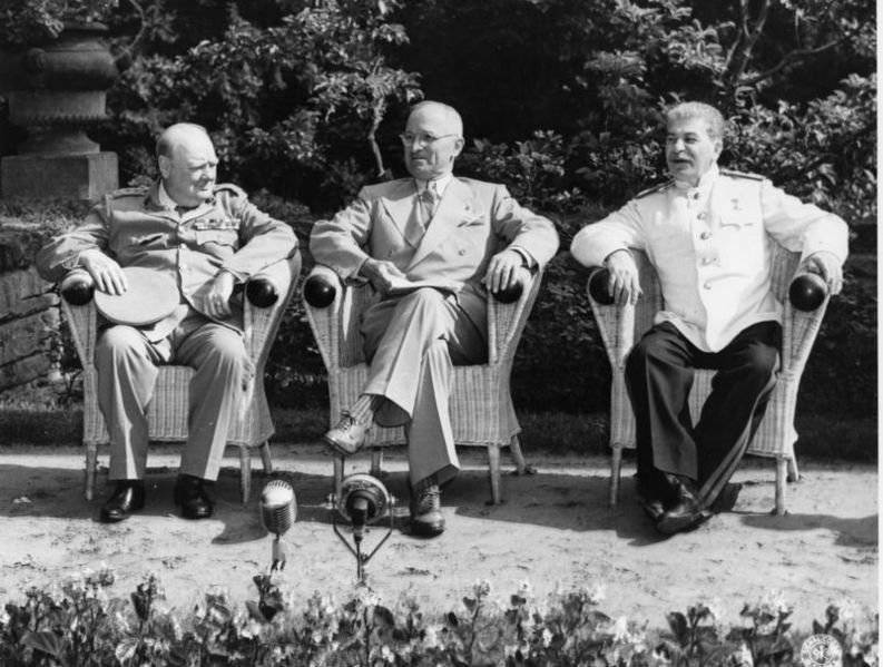 Конференция «Большой тройки»
