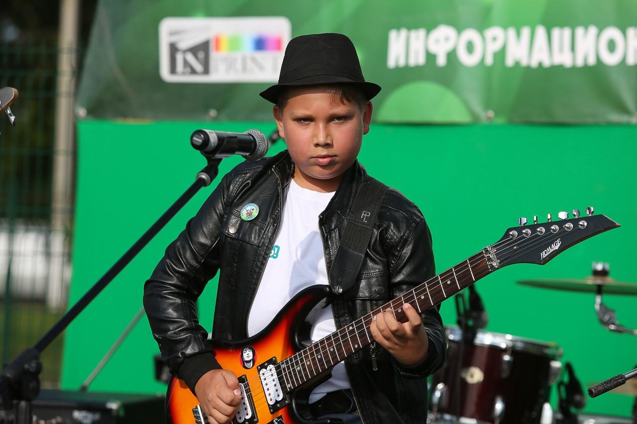 Рок-музыканты зажгли в Сясьстрое