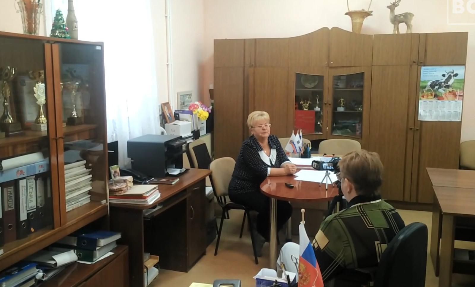 Встреча в обществе инвалидов Новой Ладоги