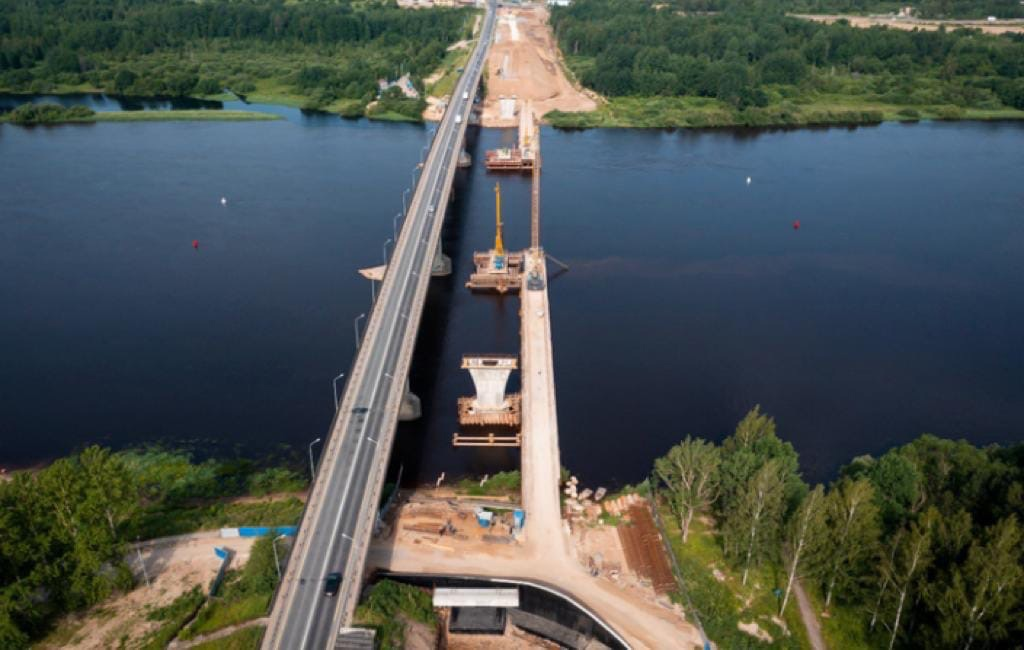 Новый мост планируют сдать раньше срока