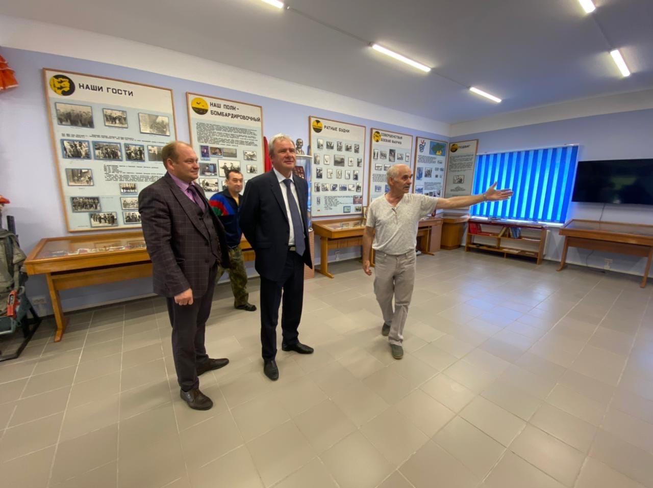 Народный музей легендарного аэродрома