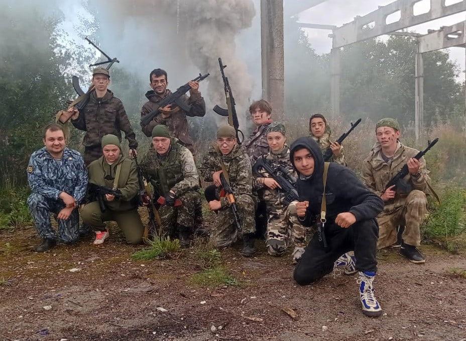 Второй день военно-полевых сборов
