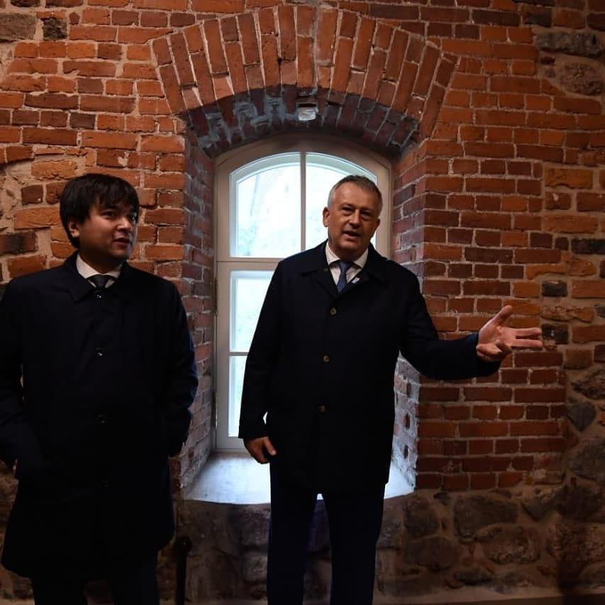 Часть Выборгского замка отреставрирована