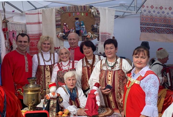 Межнациональный фестиваль «Энколово собирает друзей»