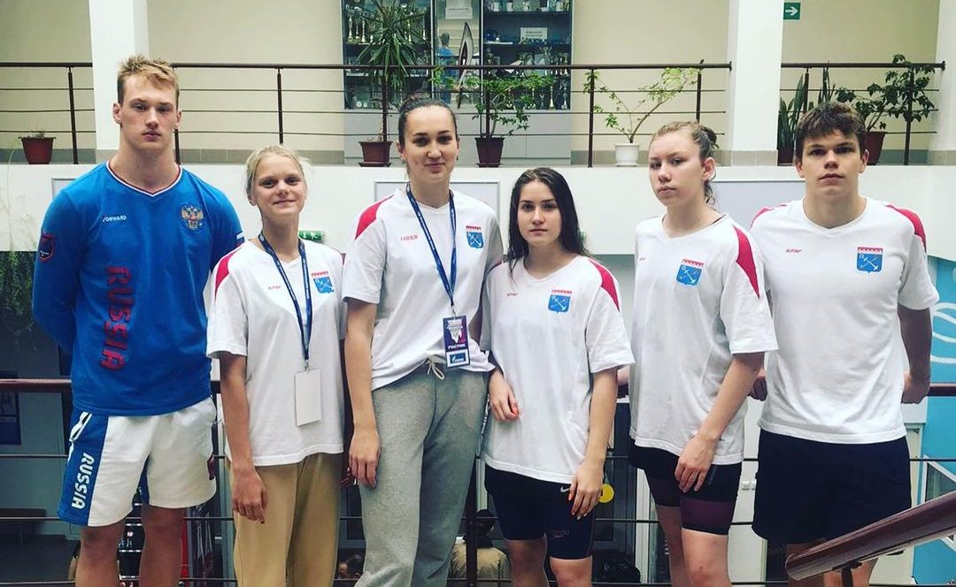 Волховчане на Чемпионате и Первенстве ЛО по плаванию