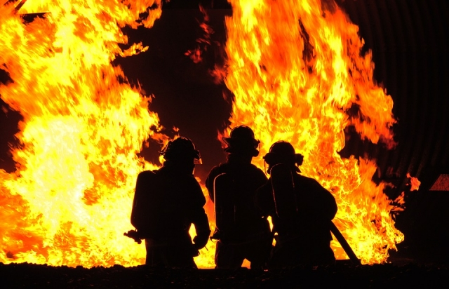 В Усадище ликвидирован пожар