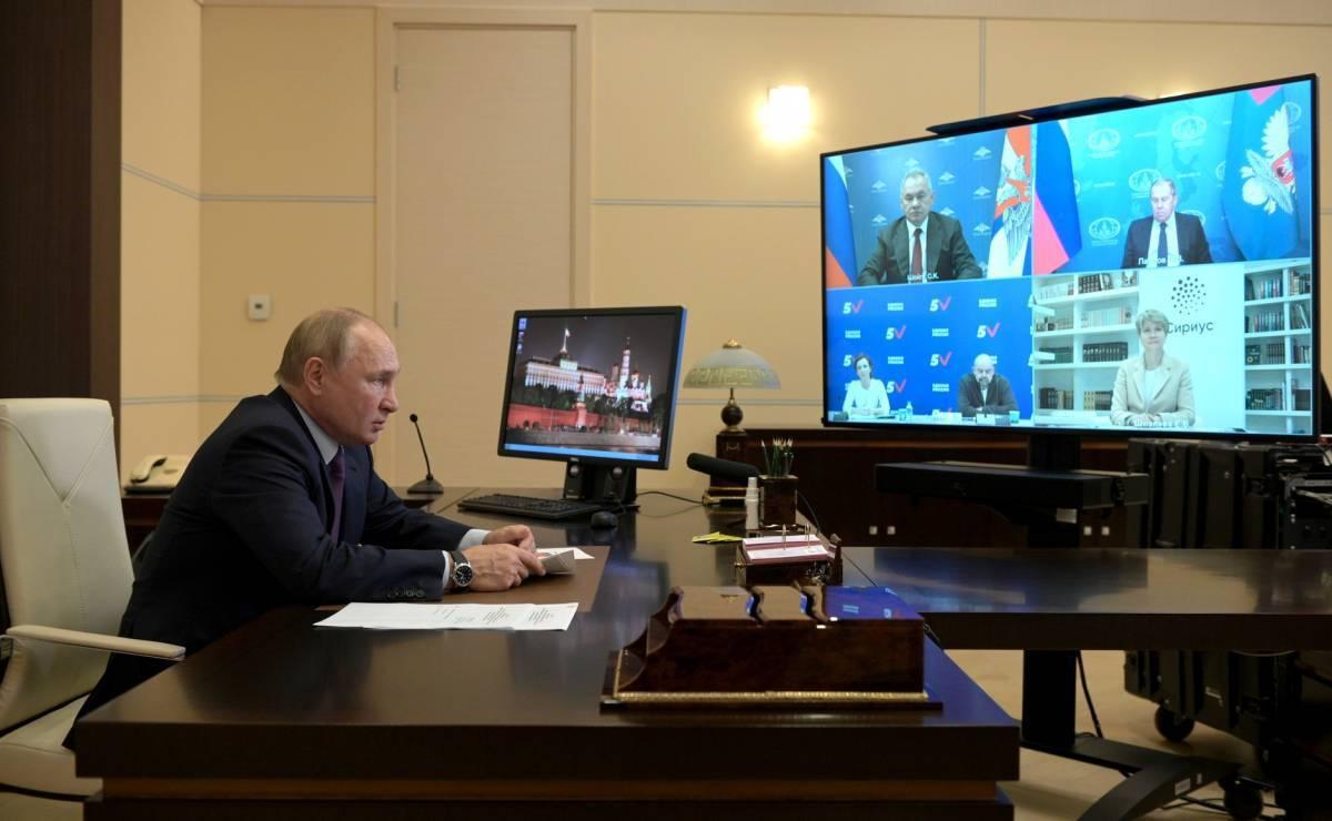 Владимир Путин: В достижении успеха «Единой России» на выборах есть вклад каждого из пятерки лидеров списка