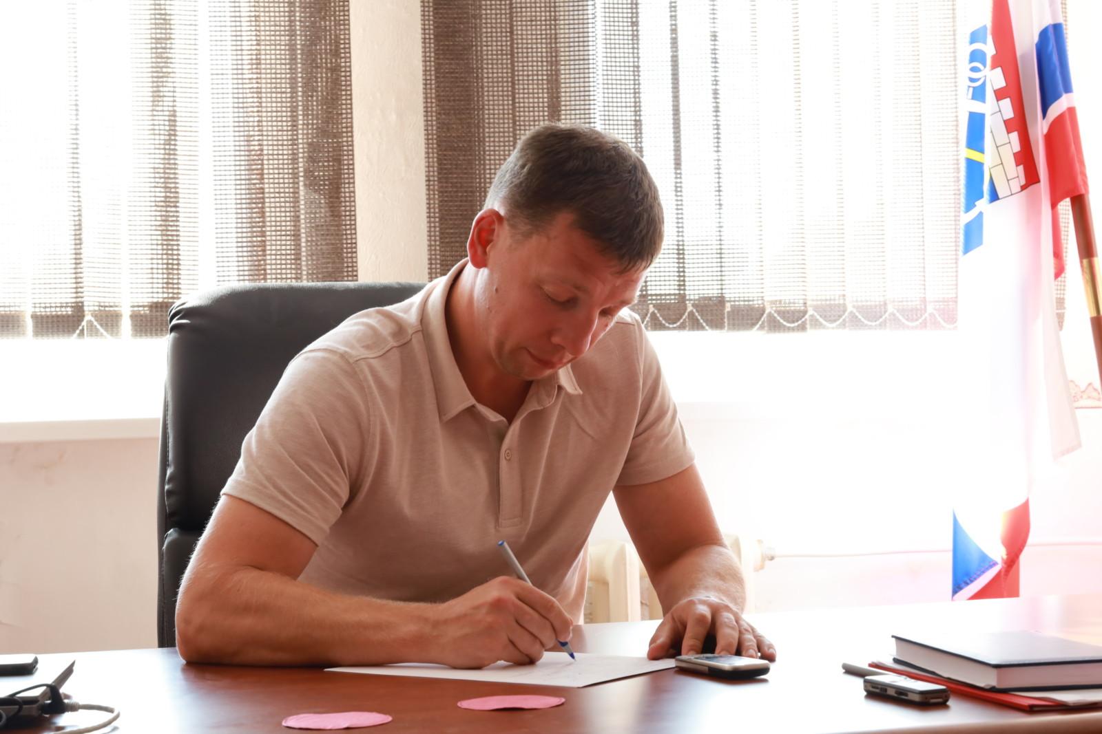 Прямая линия с ГлавойВолховского района